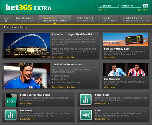 Bet365 Betting Deals