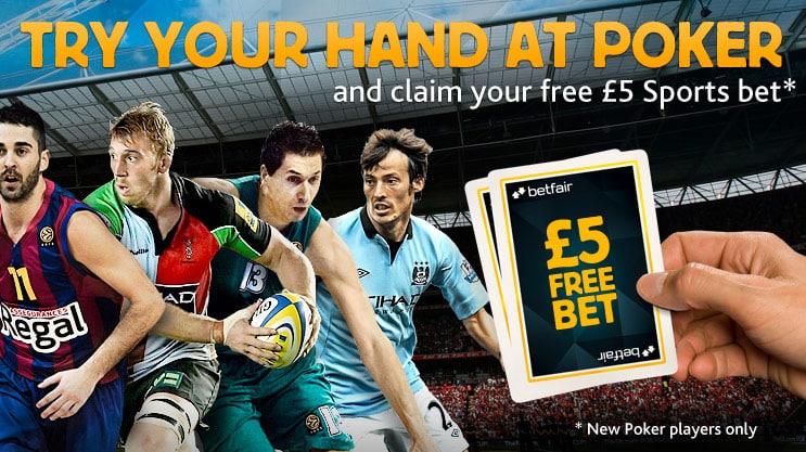 Betfair £5 Bonus Bet